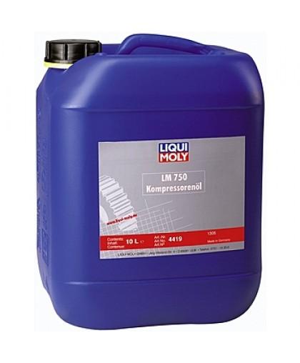 Liqui Moly Масло 750 Kompressorenoil 40 синт. 10л