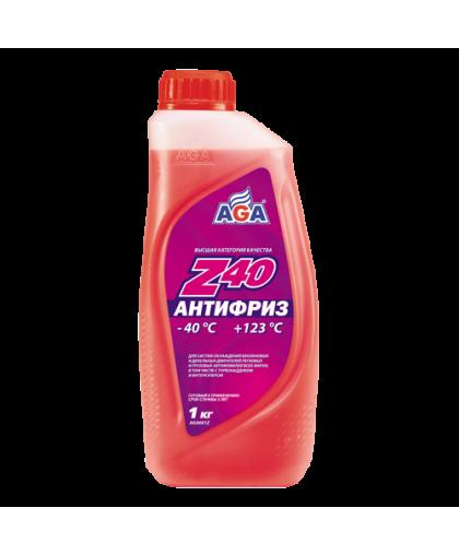 AGA Антифриз красный G12 1кг