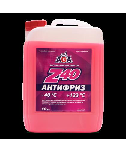 AGA Антифриз красный G12 10кг