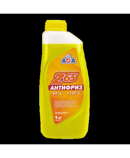 AGA Антифриз желтый G12 1кг
