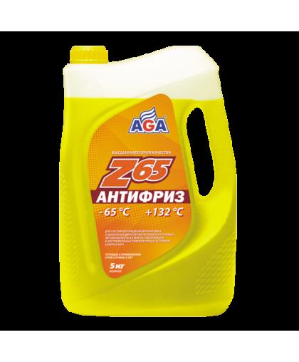 AGA Антифриз желтый G12 5кг