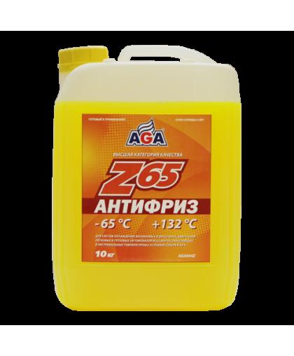 AGA Антифриз желтый G12 10кг