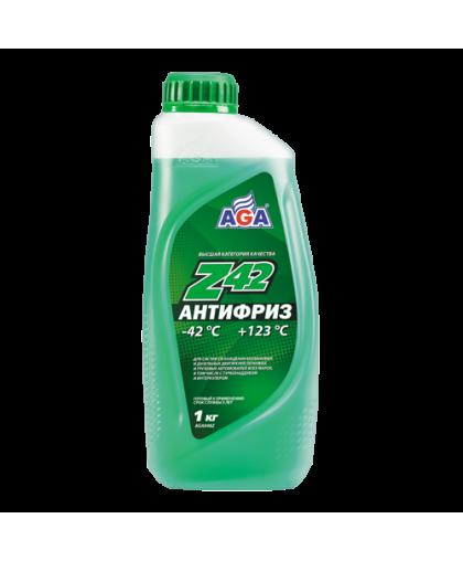 AGA Антифриз зеленый G11 1кг