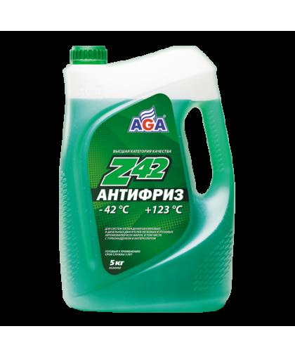 AGA Антифриз зеленый G11 5кг