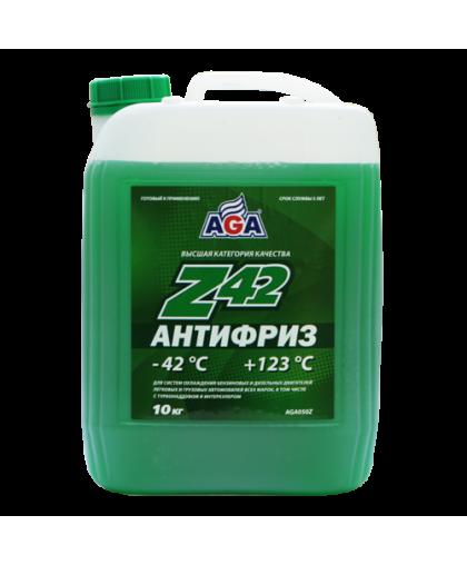 AGA Антифриз зеленый G11 10кг