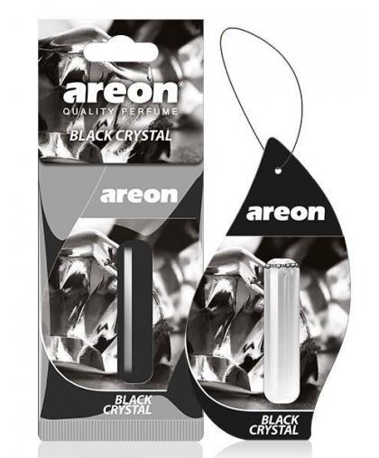 Ароматизатор Areon LIQUID 5ml гелевый Черный Лед (24) подвесной