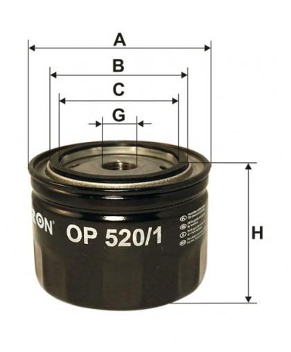 Фильтр масл FILTRON OP520/1 (=914/2)