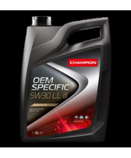 Champion OEM SPECIFIC 5W30 LL III 4л