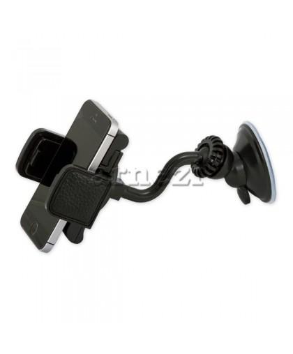Держатель телефона/навигатора 60-110мм на лобовое стекло/панель черный ARNEZI A0602010