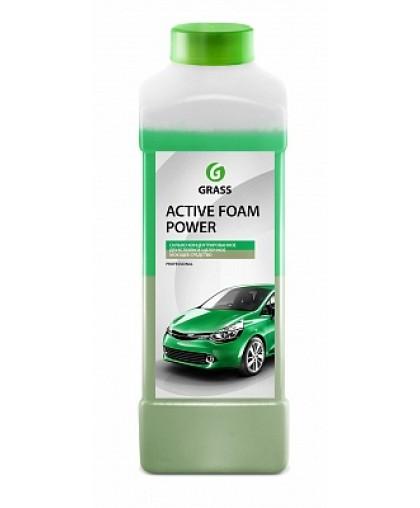 """GraSS Б/к химия """"Active Foam Power"""" 1л (10-20г/л) уп-12 113140"""