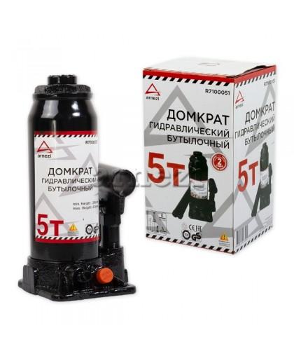 Домкрат гидравлический бутылочный 5т 216-413мм ARNEZI R7100051