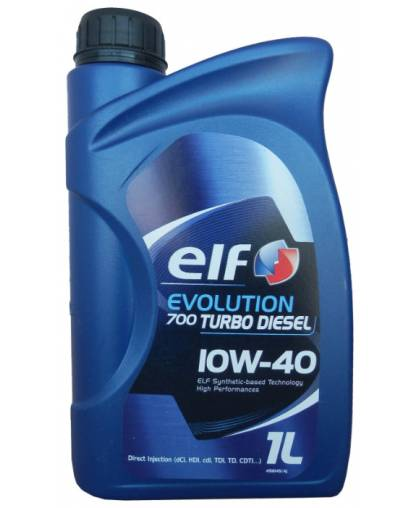 ELF EVOLUTION 700 TURBO D 10W40 1л