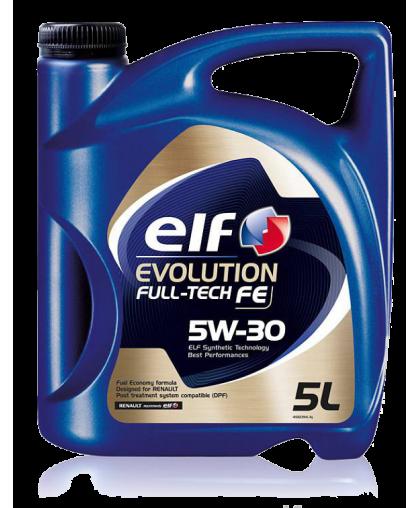 ELF Full-tech FE 5W30 5 л под сажевый