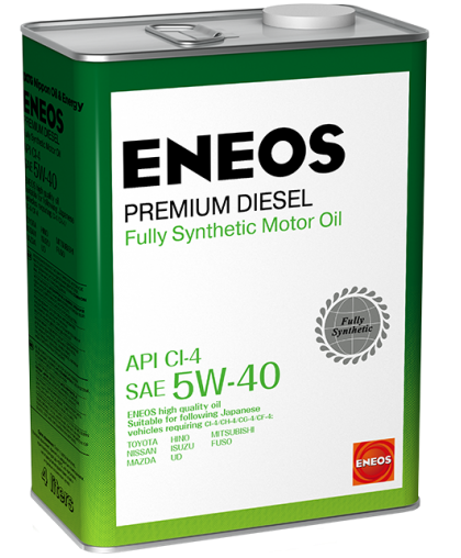 ENEOS Premium Diesel CI-4 5W40 4л 8809478943077