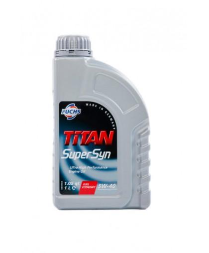 FUCHS TITAN Supersyn 5W40 1 л