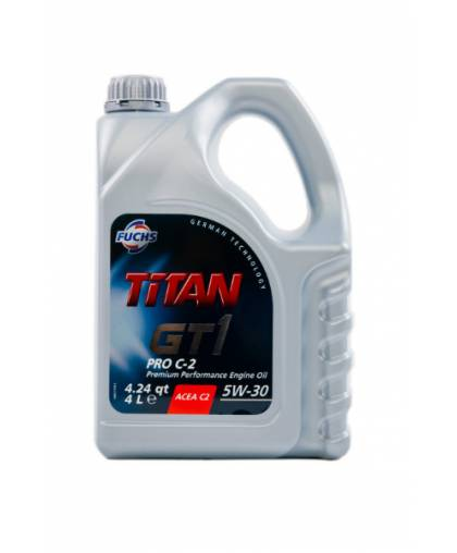 FUCHS TITAN GT1 PRO C-2 5w30 4л