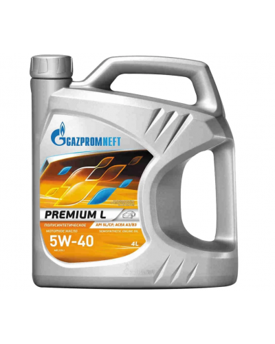 Gazpromneft Premium L 5W40 4л