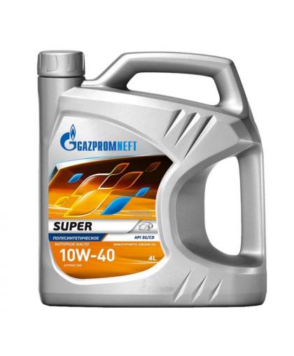 Gazpromneft Super 10W40 4л SG/CD п/с