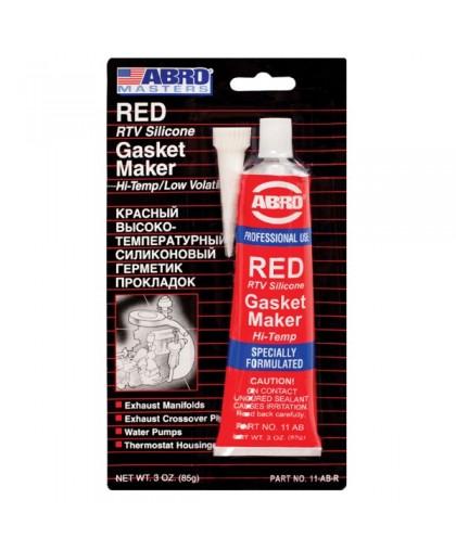 ABRO MASTERS Герметик прокладок красный 85гр 11-AB-СH (12)
