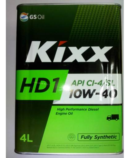 Kixx HD1 10W40 4л синт.