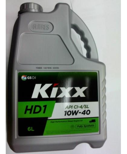 Kixx D1 10W40 (HD1 CI-4/SL 10W40) 6л синт