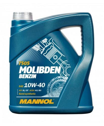 Mannol Molibden Benzin 10w40 4л п/с