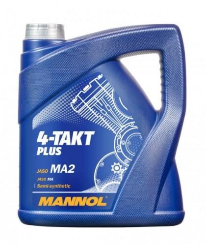 MANNOL 4-Takt plus 10W40 4л 1425