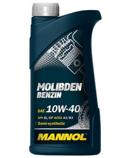 Mannol Molibden Benzin 10w40 1л п/с