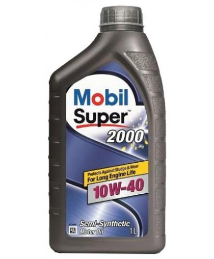 MOBIL Super 2000 10w40 1л п/с