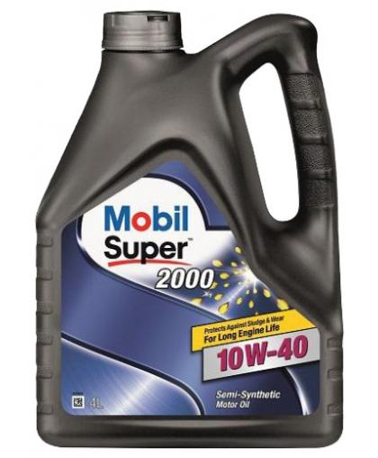 MOBIL Super 2000 10W40 4л п/с