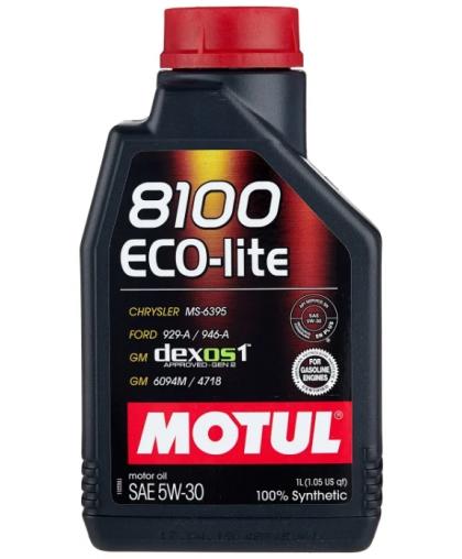 MOTUL 8100 Eco-Lite 5W30 1л 108212