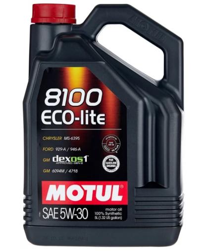 MOTUL 8100 Eco-Lite 5W30 5л