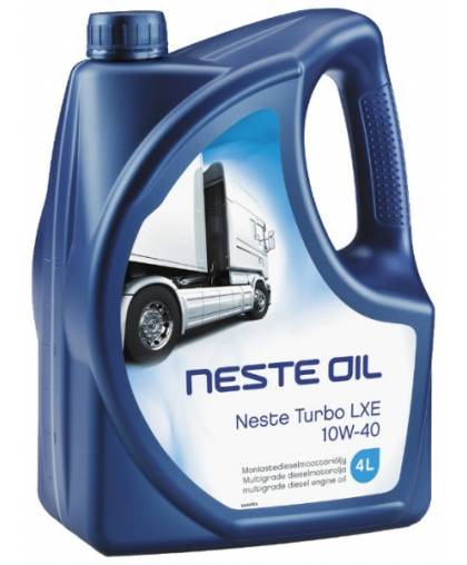 Neste Turbo LXE 10W40 4л 186345