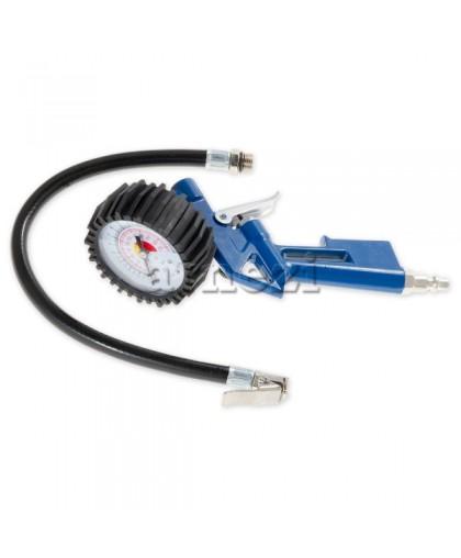Пистолет для подкачки шин с манометром, электрофоретическое покрытие ARNEZI R7500003