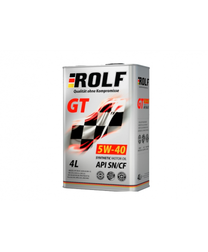 ROLF GT 5W40 4л 322229