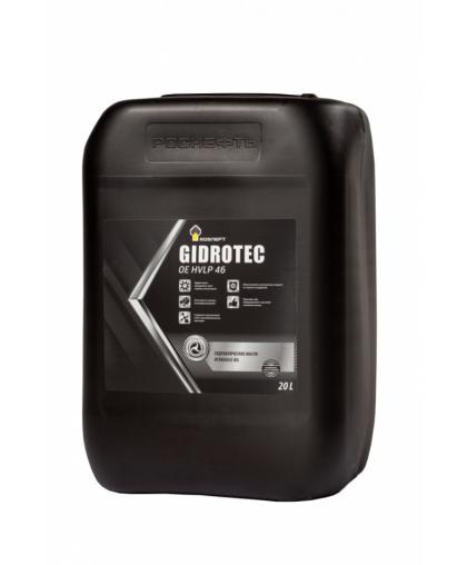Гидравлическое масло PH Gidrotec OE HVLP 46 ROSNEFT 20л