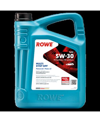 ROWE Hightec Multi SYNT DPF 5W30 4л 20125004003