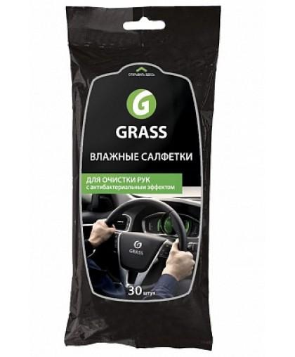 GRASS Влажные салфетки для очистки рук (уп-16) IT-0314