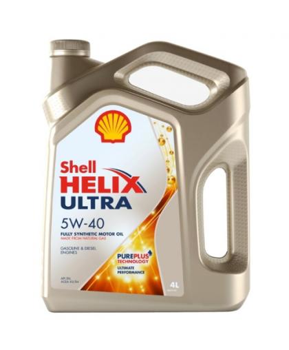 Shell Helix Ultra 5W40 4л 100% синт SHELL в Пензе