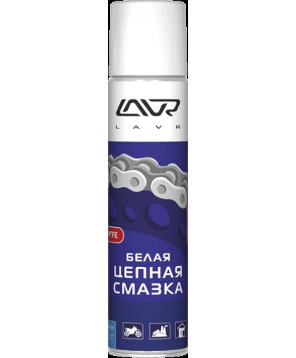 LAVR Ln1741 Смазка Белая цепная 400мл с PTFE 111741