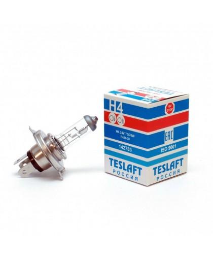 Лампа 24V H4 75/70W Teslaft 142783