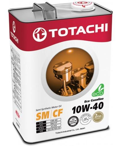 TOTACHI Eco Gasoline motor Oil 10w40 4л
