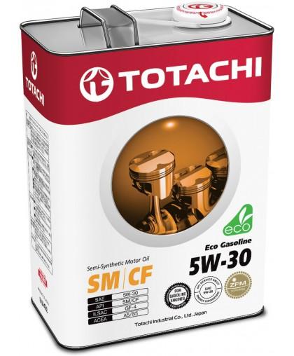 TOTACHI Eco Gasoline motor Oil 5w30 4л