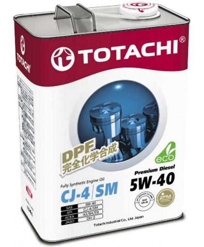 TOTACHI Premium Diesel Engine Oil 5w40 4л