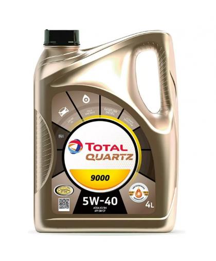 TOTAL QUARTZ 9000 5W40 4л 10210501