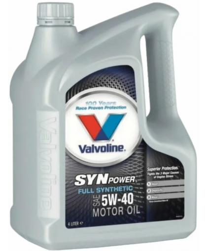 VALVOLINE Synpower 5W40 4л 872381