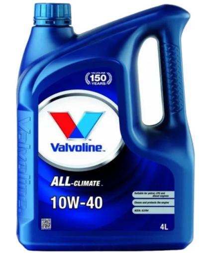 VALVOLINE All Climate Extra 10W40 4л 872780