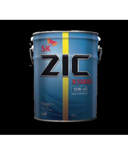 ZIC X5000 10w40 20л