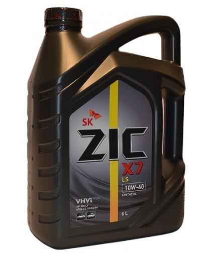 ZIC X7 LS 10w40 6л